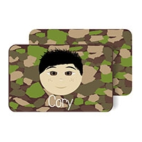 Personalized Boys Placemat - Design Your Own Cory