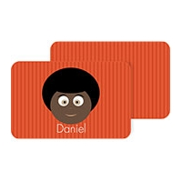 Personalized Boys Placemat - Daniel Pm2 Personalized Placemat For Kids
