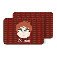 Personalized Boys Placemat - Roman Pm4 Personalized Kids Placemats