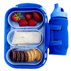 Lunchbox with Drink Holder
