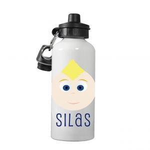 Personalized Boys Water Bottle-Mohawk