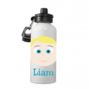 Personalized Boys Water Bottle-Preppy